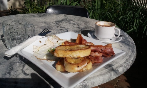 The Rail Trail Cafe, Porepunkah.
